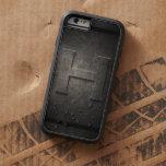 Black Metal H Monogram Iphone Case