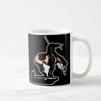 Black New End Of Trail Classic White Coffee Mug