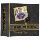 Black Traditional Photo Class Senior Memories Vinyl Binders
