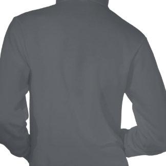 black & white yin yang music hooded pullovers