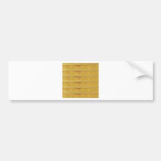Blank  Customize GoodLuck DIY Templates lowprice Bumper Sticker
