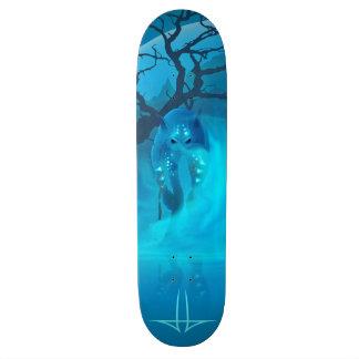 Blue Lagoon Custom Skate Board