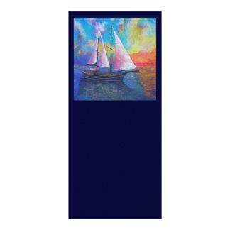 Bodrum Turquoise Coast Gulet Cruise Customized Rack Card