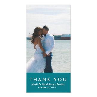 Bold Thank You Photo Card | WEDDINGS