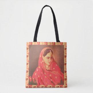 Bollywood Actress Bride Diva Fashion Model Girls Tote Bag