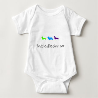 Born to love Dachshunds T-shirts