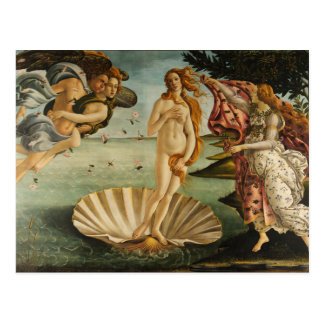 Botticelli The Birth of Venus Postcard