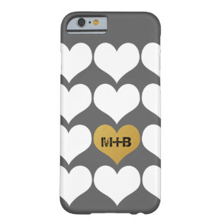 Boyfriend Girlfriend Wedding Love Heart Gift Barely There iPhone 6 Case