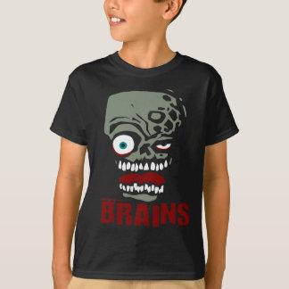 Brains zombie tees