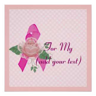 Breast Cancer Support Poster