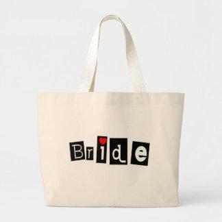 Bride Jumbo Tote Bag