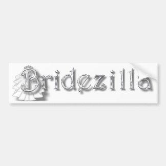 ♥ Bridezilla ♥ Bumper Sticker