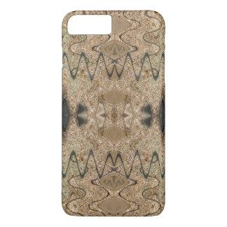 Brown Beige Earthy Design iPhone 7 Plus Case