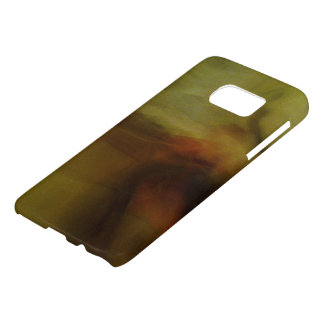 Brown wiping sample with colour tone samsung galaxy s7 case