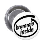 Brummie Inside Button Badge