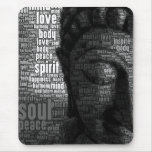 Buddhist Words of Wisdom Mouse Pad