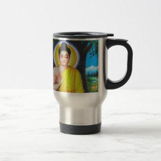 Budha 15 Oz Stainless Steel Travel Mug