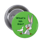BUGS BUNNY™ Rabbit Hole 2 Inch Round Button