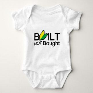 Built, not bought t-shirts