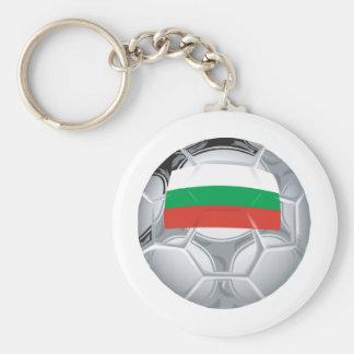 Bulgaria Soccer Basic Round Button Keychain