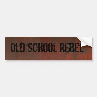 Bumper Sticker~Old School Rebel Bumper Sticker