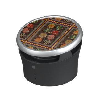 Bumpster Speaker Fun Dancing Colorful symbols
