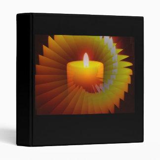 Burnin Flame Illusion 3 Ring Binder