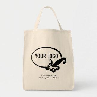 Business Canvas Tote Bag Company Logo Custom Print