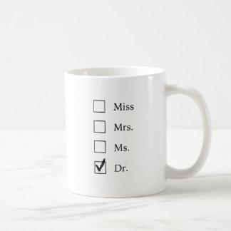 Cadeaux de PhD pour des femmes Mug Blanc