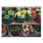 Calendrier 2011 - légume et fruit