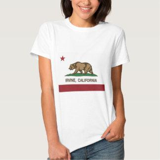 california flag irvine t-shirts