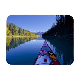 Canada, British Columbia, Bowron Lakes Rectangular Photo Magnet