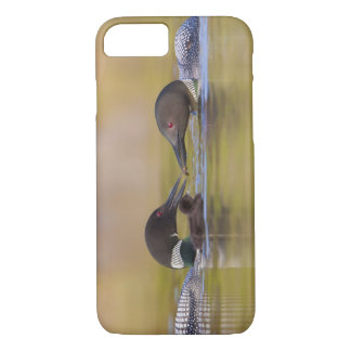 Canada, British Columbia,Common Loon, breeding iPhone 7 Case