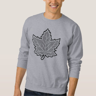 Canadian Maple Leaf Vintage Style CANADA Pull Over Sweatshirt