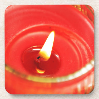 Candle Beverage Coasters
