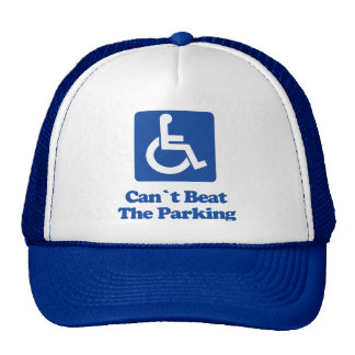 Can't Beat The Parking Trucker Hat