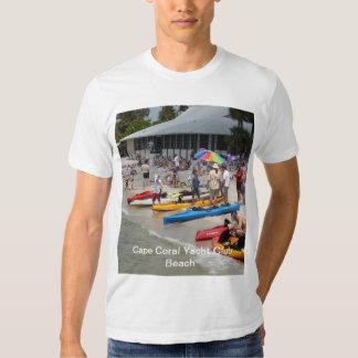 Cape Coral Yacht Club Beach T-shirt