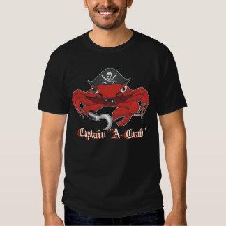 """Capitaine """"Un-Crabe """" Tshirt"""