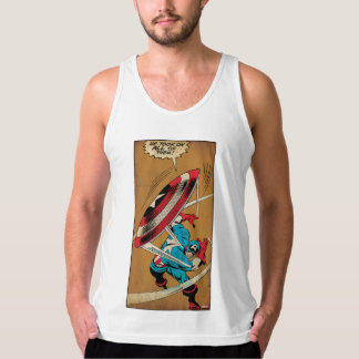 Captain America-He Took On All Of Them Tanktop