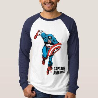 Captain America Run Shirts