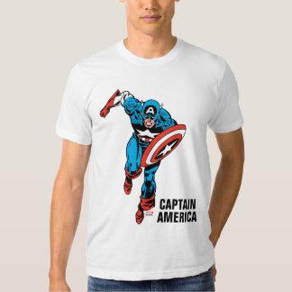 Captain America Run Tees