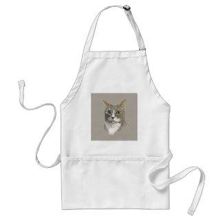 Captain domestic short hair cat standard apron