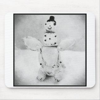 Carte de voeux de vacances de photo de Noël Tapis De Souris