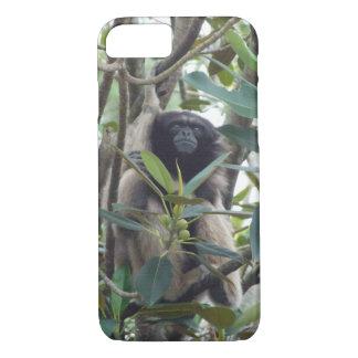 Cas intelligent de téléphone de gibbon coque iPhone 7