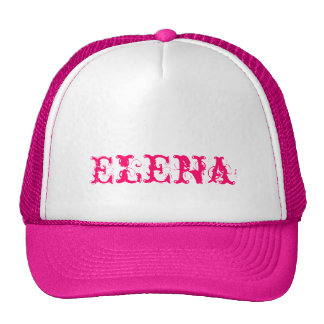 Casquette d'Elena avec nom personnalisé