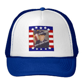 Casquette fait sur commande patriotique de photo