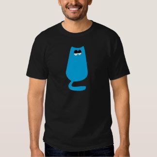 Cat Sitting Blue Hi Eyes T Shirt