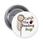 Catch the Reading Bug 2 Inch Round Button
