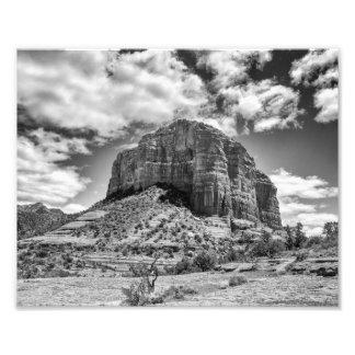 Cathedral Rock - Black & White | Photo Print