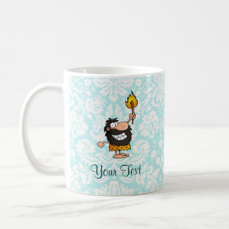 Caveman; Cute Classic White Coffee Mug